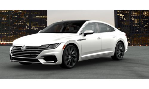 2019 VW Arteon pure white