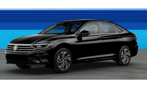 2019 VW Jetta Black