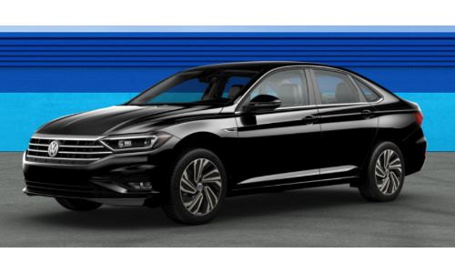 2019 VW Jetta Deep Black Pearl