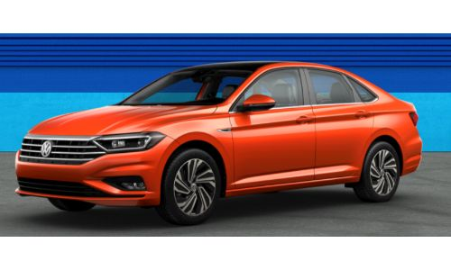 2019 VW Jetta Habenero Orange Metallic