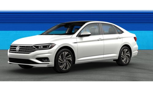 2019 VW Jetta Pure White