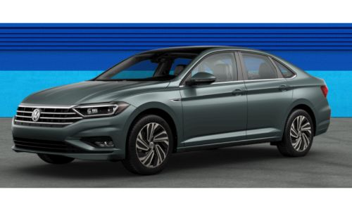 2019 VW Jetta Sage Green Metallic