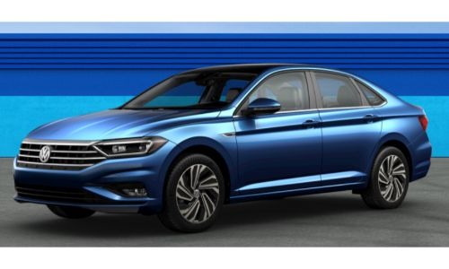 2019 VW Jetta Silk Blue Metallic