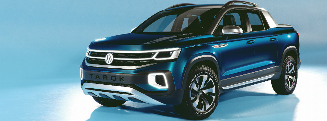 Volkswagen Has a New Truck Concept Called the Volkswagen Turok
