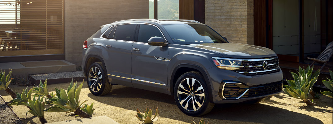 2020 VW Atlas Cross Sport parked at a home