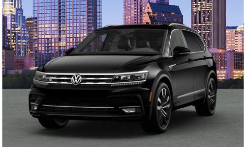 2020 VW Tiguan deep black pearl
