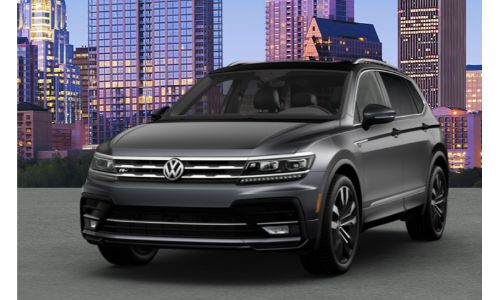 2020 VW Tiguan platinum gray metallic