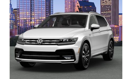 2020 VW Tiguan pure white