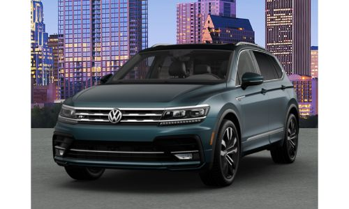 2020 VW Tiguan stone blue metallic
