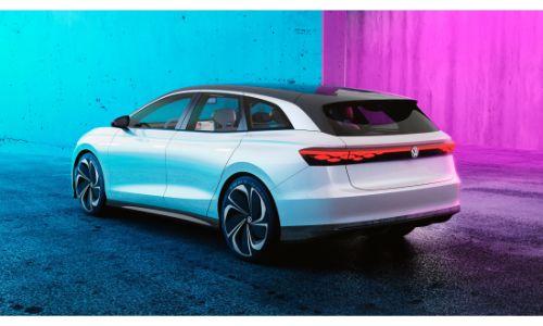 VW ID SPACE VIZZION side profile glamour shot