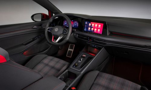 VW Golf GTI front row seats