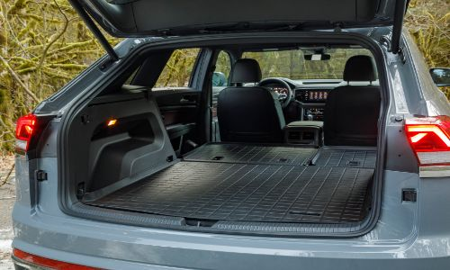 2020 VW Atlas Cross Sport with all the seats down