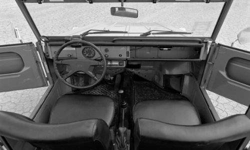 Volkswagen Type 181 interior view