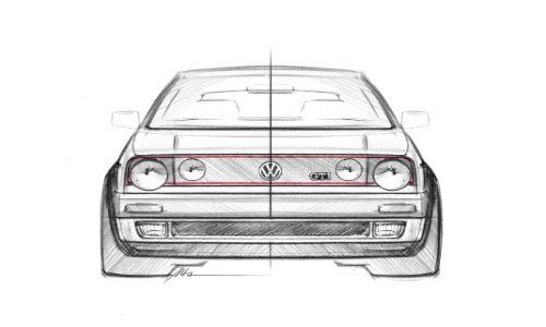 VW Golf GTI Mark 2