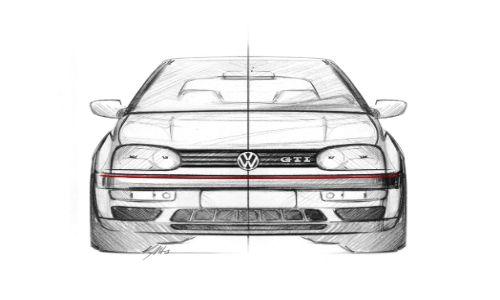 VW Golf GTI Mark 3