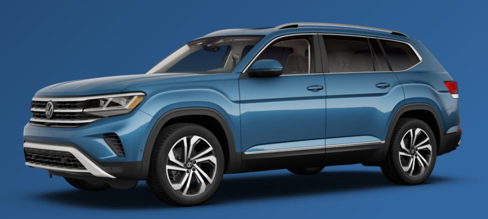 2021 Volkswagen Atlas Pacific Blue Metallic