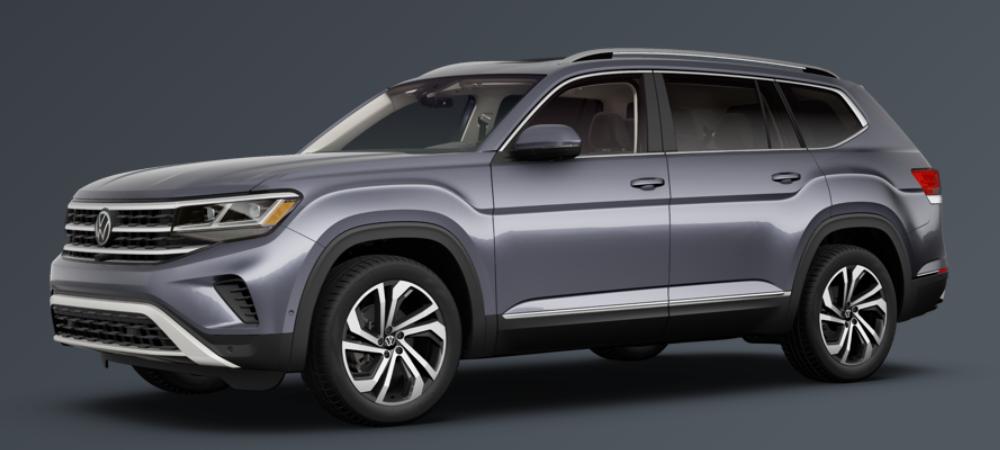 2021 Volkswagen Atlas Platinum Gray Metallic