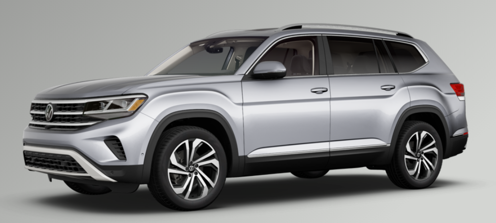2021 Volkswagen Atlas Pyrite Silver Metallic