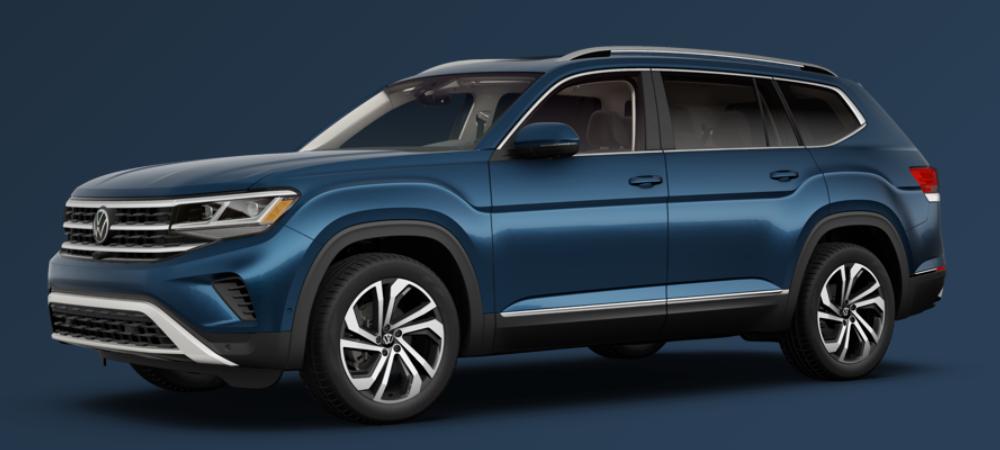 2021 Volkswagen Atlas Tourmaline Blue Metallic