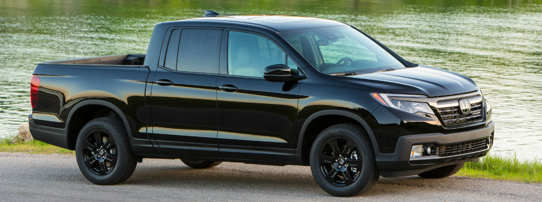 2017 Honda Ridgeline Black Edition At The Lake