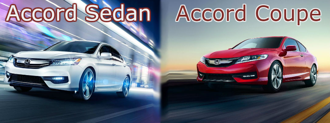 2017 Honda Accord Sedan vs 2017 Honda Accord Coupe