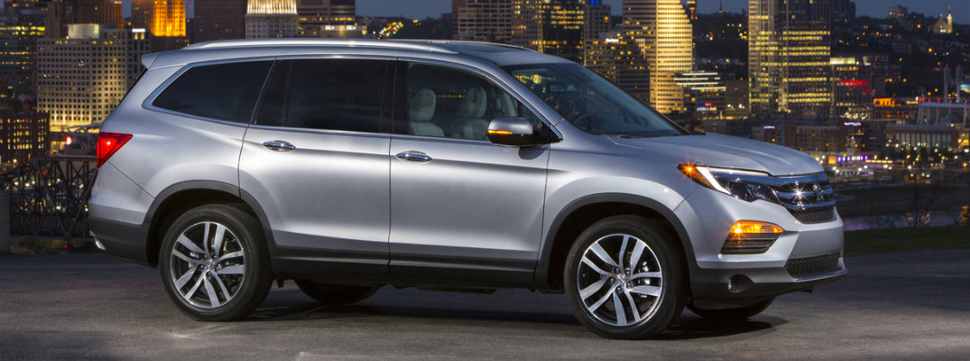 2017 Honda Pilot Technology Upgrades