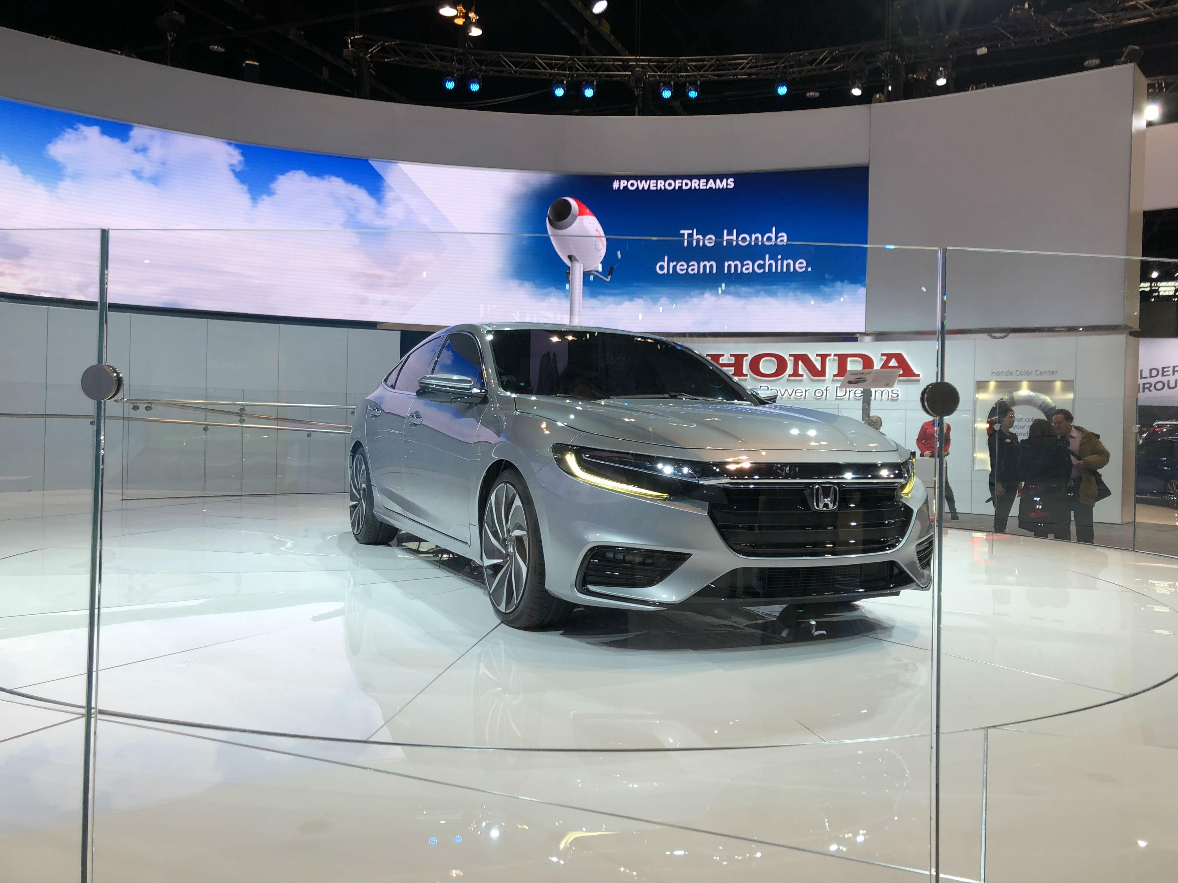 Honda Insight Prototype At The Chicago Auto Show - Honda center car show