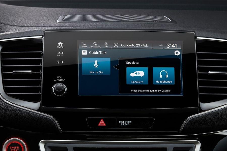 2020 Honda Pilot Cabin-Talk