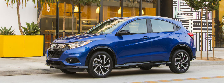 Blue 2020 Honda HR-V