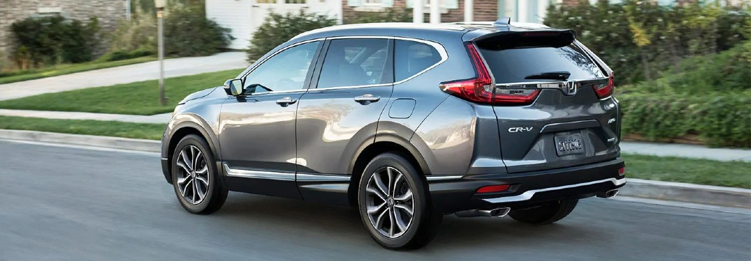 How much cargo space does the 2020 Honda CR-V have?