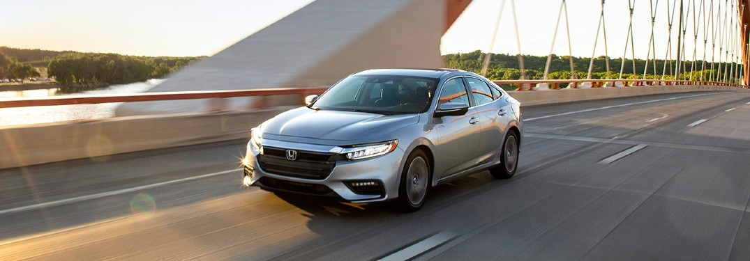 2020 Honda Insight front driver side on bridge
