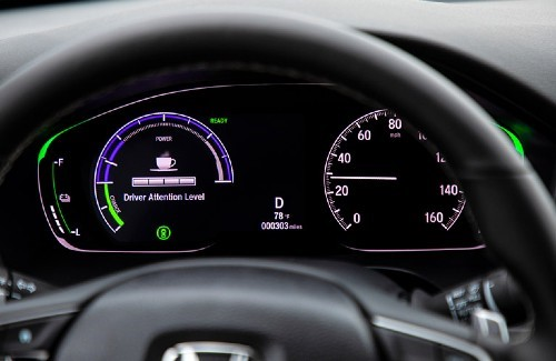 2020 Honda Insight interior digital driver information display