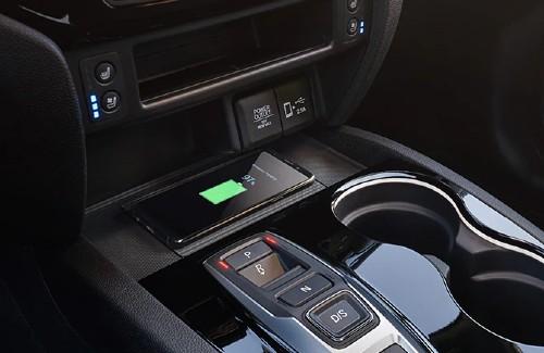 2020 Honda Passport interior wireless smartphone charger phone charging