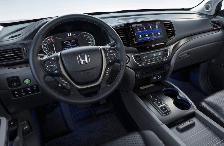 2021 Honda Ridgeline driver cockpit