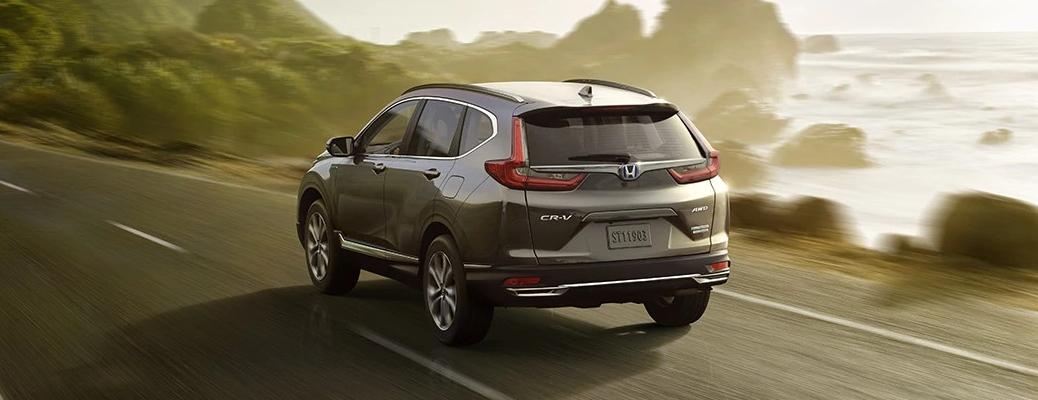 2021 Honda CR-V gray back view