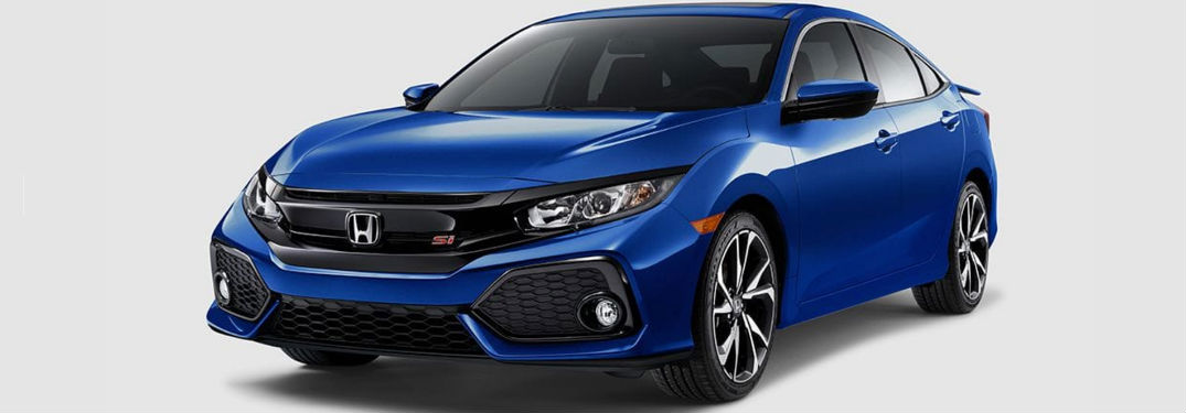 2017 Honda Civic Si Coupe And Sedan Pricing Information