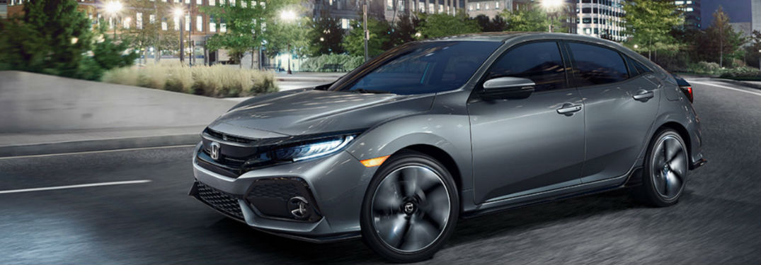 2018 Honda Civic Hatchback Safety Technology and Trim Level Offerings
