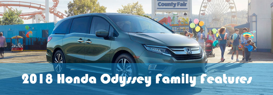 2018 Honda Odyssey Features for a Family