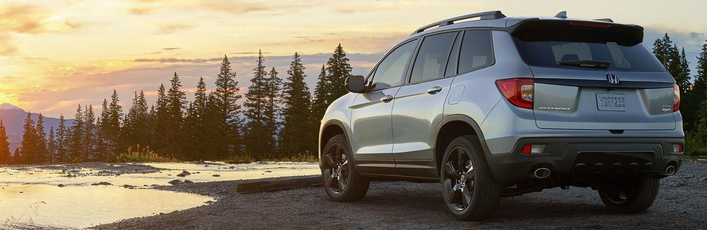 2019 Honda Passport at water's edge
