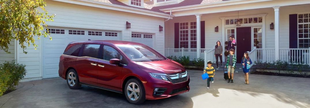 2019 Honda Odyssey by family home