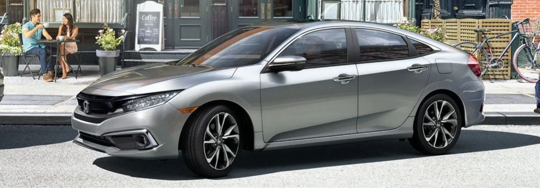 2020 Honda Civic Sedan on city street