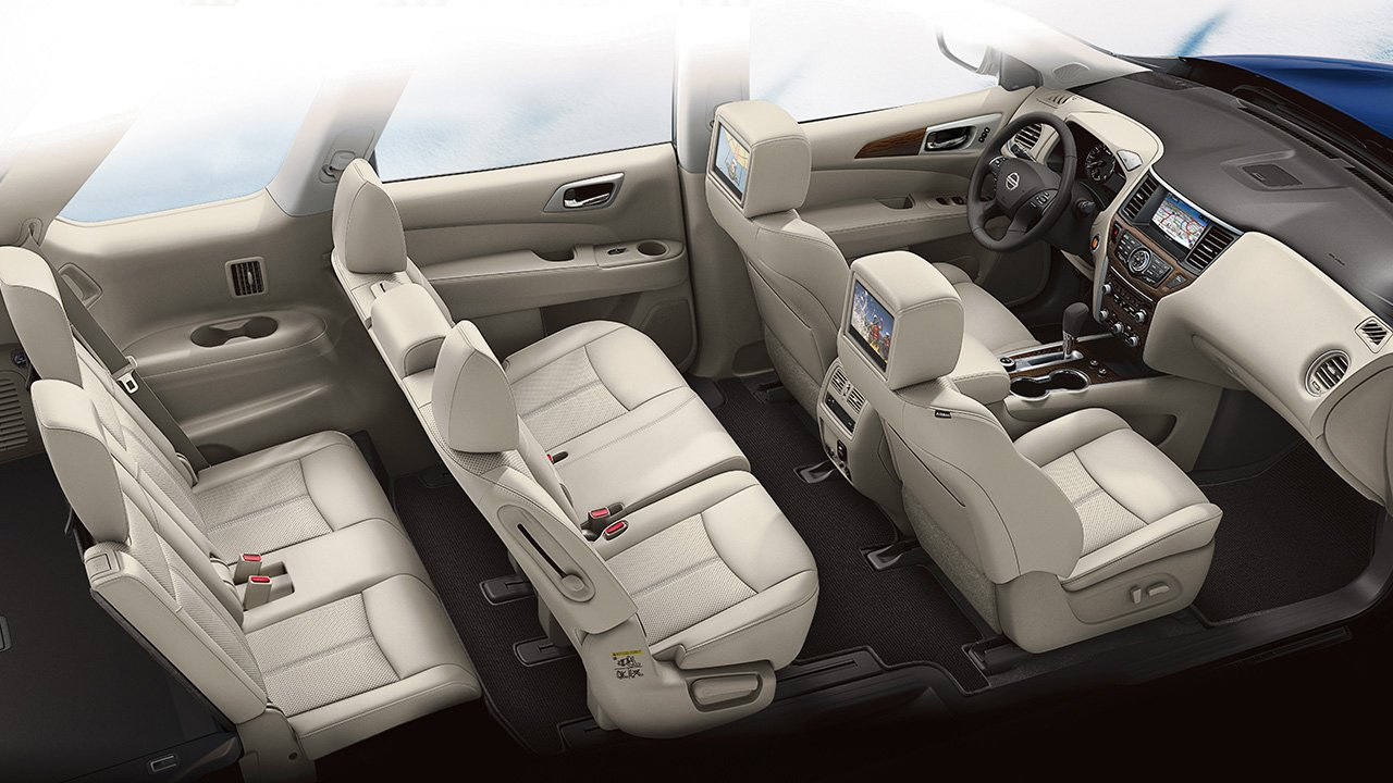 2018 Nissan Pathfinder Premium Interior And Seating