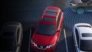 2018 Nissan Pathfinder with Rear Cross Traffic Alert