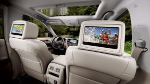 2018 Nissan Pathfinder Tri-Zone Entertainment system