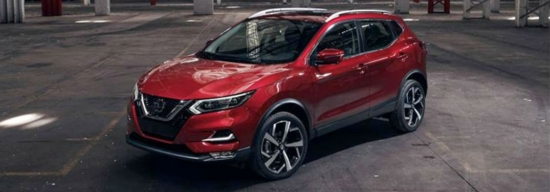 2020 Nissan Rogue Sport exterior front fascia and drivers side indoors