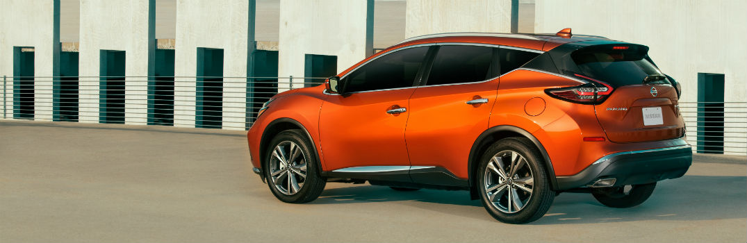 2020 Nissan Murano Exterior Driver Side Rear Profile