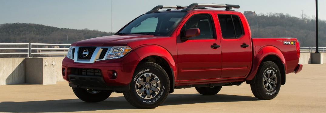 red nissan frontier