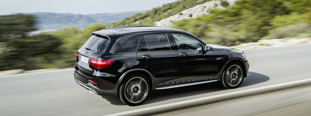 ... 2016 Mercedes AMG GLC43 Side View