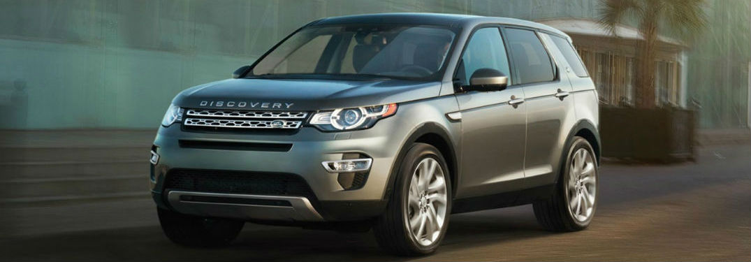 2016 Land Rover Discovery Sport model front view