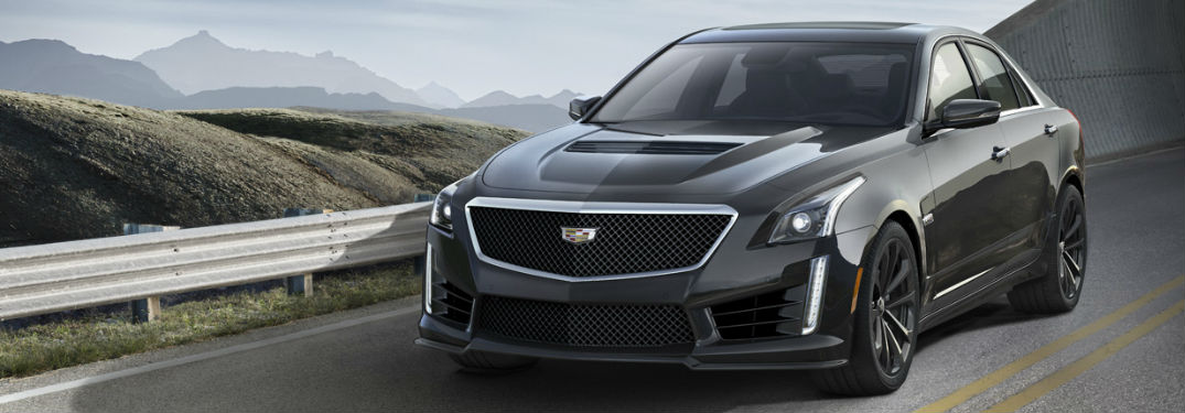 2017 Cadillac CTS in black